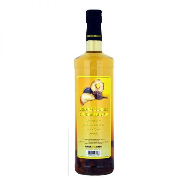 Sadno žganje s suhim sadjem - naravno slovensko žganje - Krzič