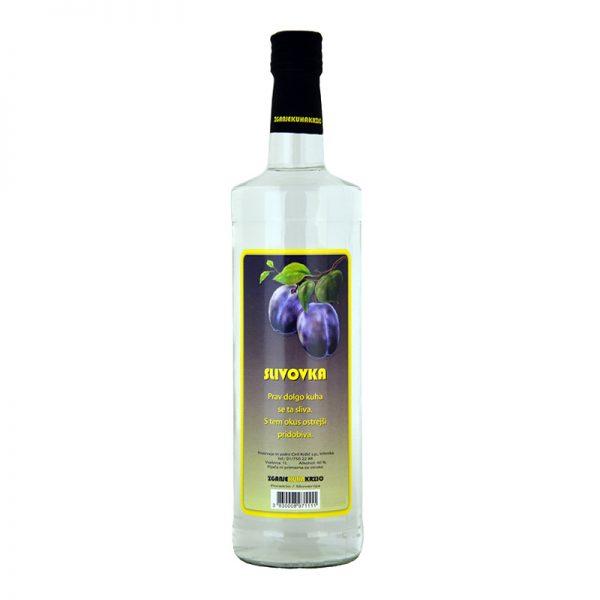 Slivovka - naravno slovensko žganje - Krzič